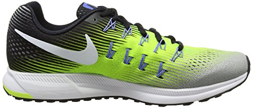 Nike Air Zoom Pegasus 33, Zapatillas de Running Para Hombre Varios Colores (Ghost Green/Black/Pure Platinum 007)