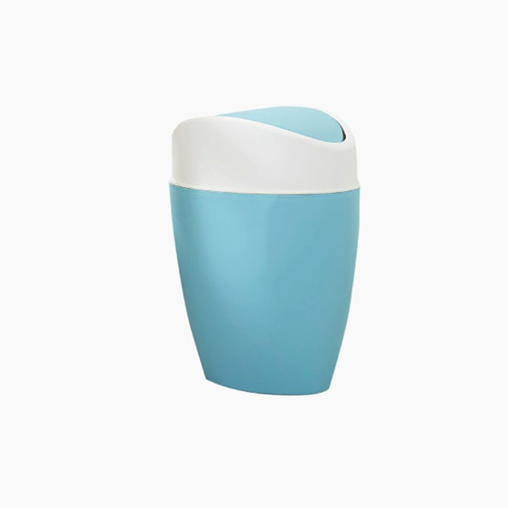 Goquik Creative Shake Cover Bedroom Living Room Bathroom Trash Can (Color : A) by Goquik