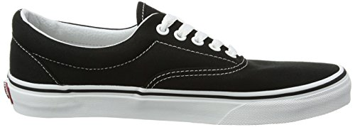 Unisex Black Zapatillas Vans Classic Adulto Canvas Negro White Era wxIqBqAFg