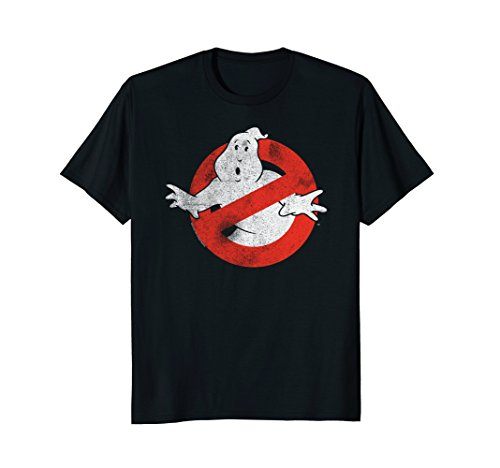 Mens Ghostbusters Distressed T-shirt