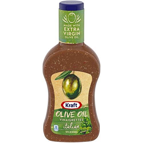Kraft Olive Oil & Vinaigrette Italian Dressing (14 oz Bottle) (Best Olive Oil Vinaigrette Dressing)