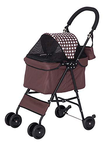 IRIS Pet Stroller, Brown