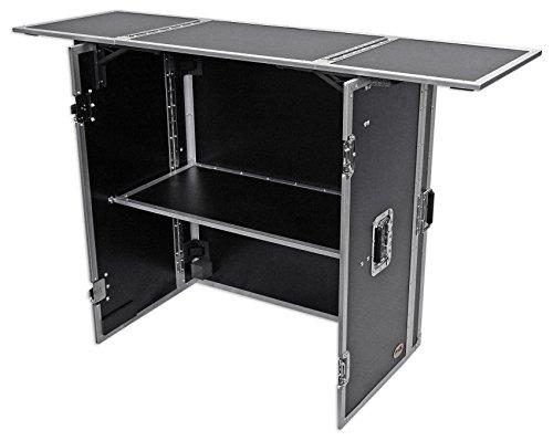 ProX Transformer Series Fold Away DJ Performance Desk Facade W/ (Facade Series)