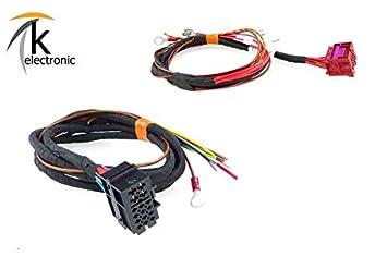 k-electronic Audi A4 8 K B8 steckbare Desmontable Remolque AHK Juego de Cables: Amazon.es: Coche y moto