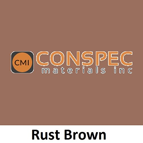 Conspec 1 Lbs. RUST BROWN Powdered Color for Concrete, Cement, Mortar, Grout, Plaster