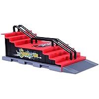 Royare Tech Deck Fingerboard Board Ultimate Parks Ramp Skateboard Toy