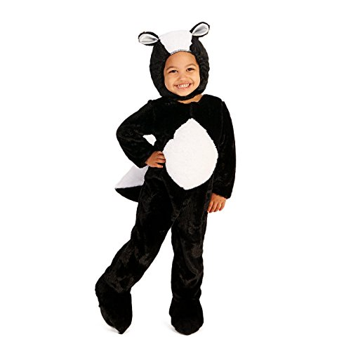Skunk Costumes For Baby (Skunk Toddler Costume 2-4T)
