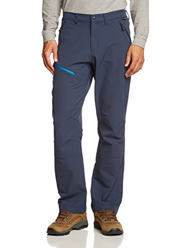 Jack Wolfskin Activate Gentlemen blue (Size: 50) softshell pants