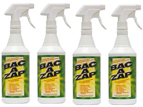 - Bac-A-Zap Odor Eliminator - Quart (32_Ounce) (Fоur Paсk)