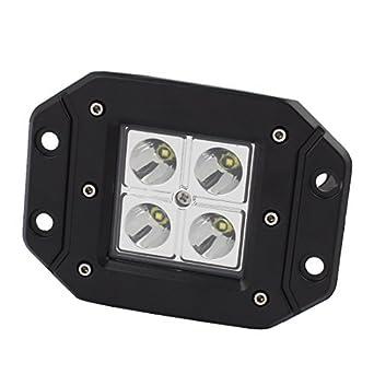 Amazon.com: Lámpara de Trabajo eDealMax carro del coche 12W ...
