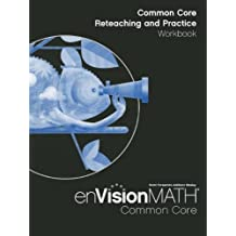 Amazon scott foresman books math 2012 common core reteaching and practice workbook grade 4 fandeluxe Images
