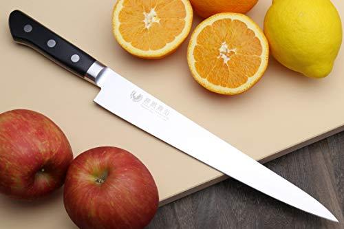 Yoshihiro 240mm Inox Sujihiki Japanese Chef Knife, 9.5-Inch by Yoshihiro (Image #2)