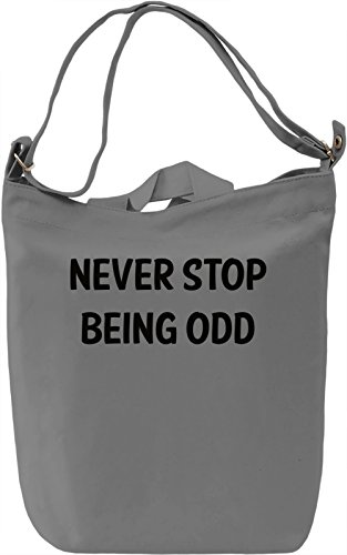 Be Odd Borsa Giornaliera Canvas Canvas Day Bag| 100% Premium Cotton Canvas| DTG Printing|