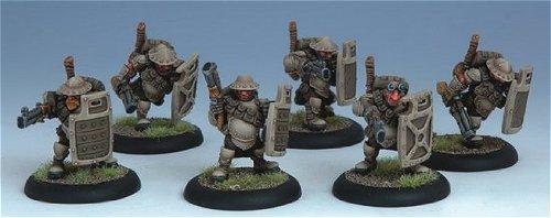 Hammerfall High Shield Gun Corp Unit Box Warmachine