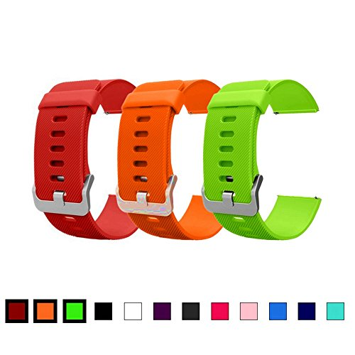 Replacement Straps For Fitbit Blaze, Dunfire Colorful Accessory Watch-style Band/ Wristbands with Buckle For Fitbit Blaze Smart Fitness - With Tracking Usps Shipping Options