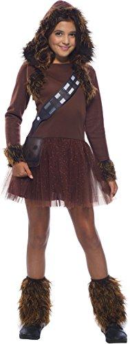 Rubie's Girls Star Wars Classic Chewbacca Costume, -