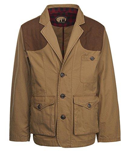 Woolrich Men's Rosecrans Sporting Blazer Shooting Coat, Sediment (Beige), Size (Woolrich Wool Blazer)
