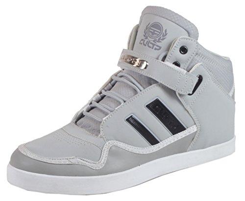 Robinson - Herren Sneaker High Top Lederoptik Basketball Street Schuhe  Schnürschuhe 40 41 42 43 44