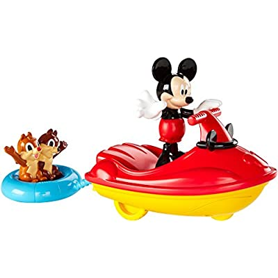 Fisher-Price Disney Mickey Mouse Clubhouse, Mickey Outdoor Cruiser Playset: Toys & Games