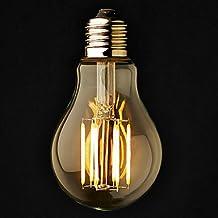3PCS ONDENN E26/E27 6 W 6 COB 600 LM 2800-3200K K Warm White A Dimmable Globe Bulbs AC 220-240/AC 110-130 V ( Light Source Color : Warm White , Voltage : 100-120V )