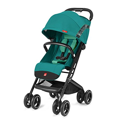 gb 2018 Buggy QBIT+ WITH Bumper Bar ''Laguna Blue'' - from birth up to 17 kg (approx. 4 years) - GoodBaby QBIT PLUS by gb