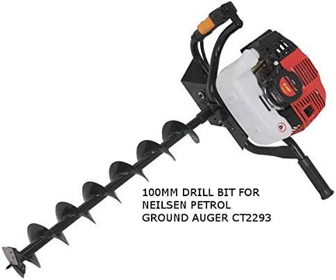 100 mm X 750 mm Drill bit for Petrol Ground Auger Neilsen CT2293