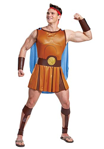Hercules Disney Adult Hercules Costume Medium
