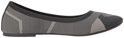 Skechers Women's Cleo-Wham Ballet Flat, Grey Charcoal/Grey