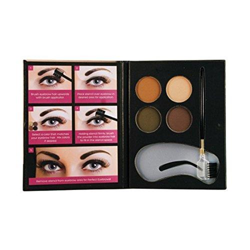 (6 Pack) BEAUTY TREATS Perfect Eyebrow Powder Kit