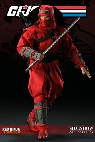 Sideshow GI Joe Cobra Red Ninja 12