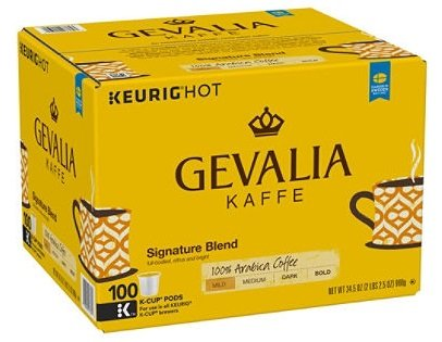 Gevalia Signature Blend Coffee (100 K-Cups)