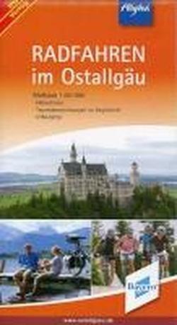 Radfahren im Ostallgäu 1 : 50 000. Höhenlinien