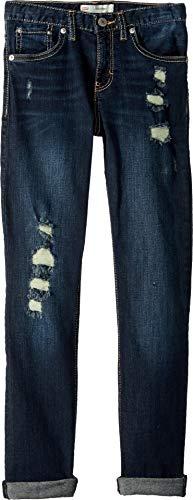 - Levi's Girls' Big Girlfriend Fit Jeans, Blue Asphalt 8