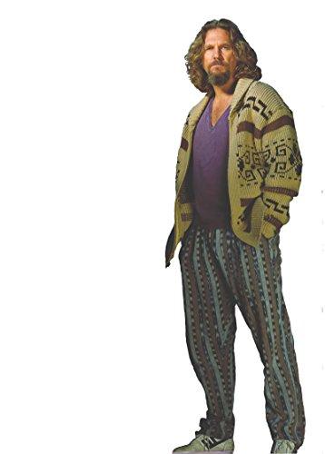 JEFF BRIDGES THE DUDE BIG LEBOWSKI LIFESIZE CARDBOARD STANDUP STANDEE CUTOUT POSTER