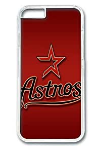 Houston Astros Custom iPhone 6 Plus 5.5 inch Case Cover Polycarbonate Transparent