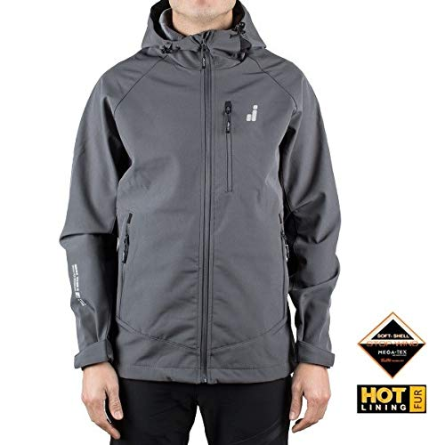 Joluvi Softshell Scoot Antracita Hombre - XL, Hombre: Amazon ...