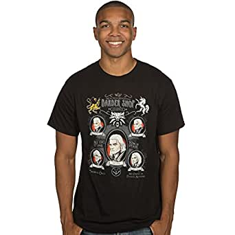 The Witcher 3 Men's Shave and a Haircut Premium T-Shirt (Black, Small)