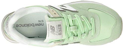 New Lime Balance Mehrfarbig 574v2 Damen Sneaker ZqURwvZ