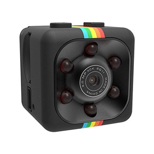 2 opinioni per SQ11mini DV videocamera 1080p HD telecamera nascosta Motion Dedection visione