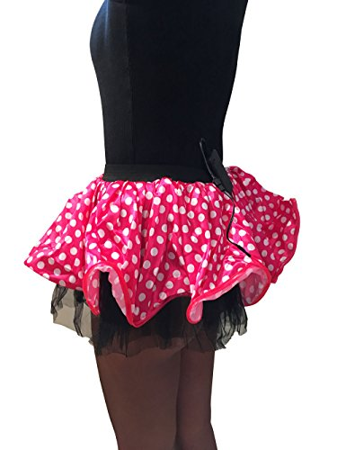 Crazy Club Minnie Light Up Tutu PINK: Sexy rave party outfit for adults by GlitZGlam (Minnie Mouse Adult Outfit)