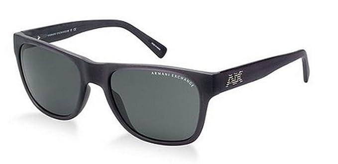 Amazon.com: Armani Exchange Mens Sunglasses (AX4008) Black Matte ...