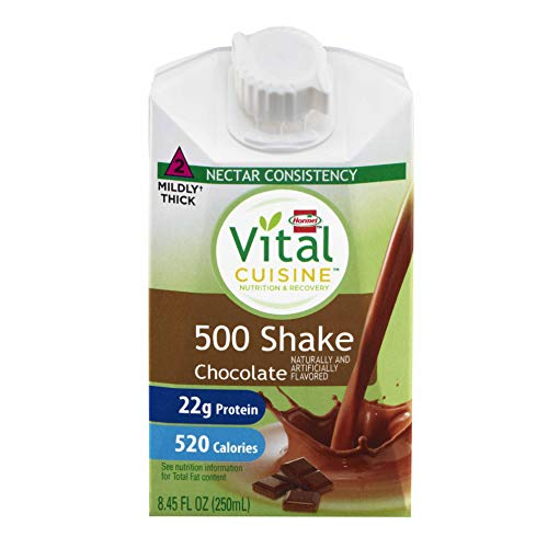 Vital Cuisine 500 Chocolate Nutritional Shake Chocolate Flavor 8.45 oz. Carton Ready to Use, 72502 – Each