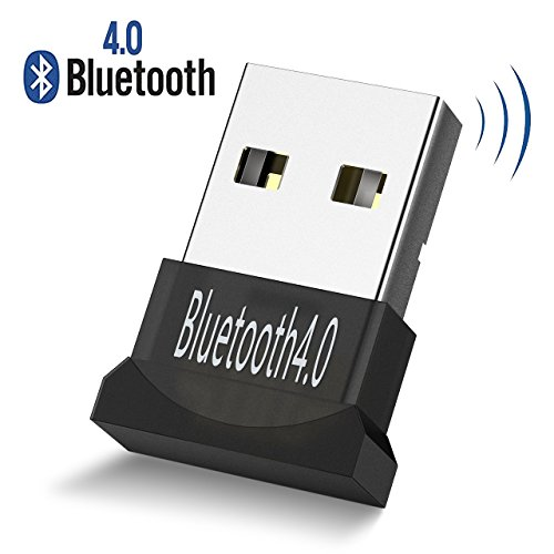 [Update Version]Bluetooth Adapter, Atmoko Bluetooth 4.0 USB Port Wireless Dongle Adapter Compatible with PC Desktop and Computer with Windows 10, 8.1, 8, 7, Vista, XP 32/64 Bit