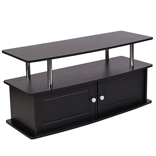Buy flash furniture tv stand in black finish