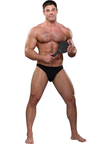 [Spank Me Bikini in Black, One Size] (Brazil Costume Male)