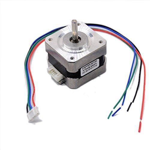 5PCS 17HS3401 4-lead Nema 17 Stepper Motor 42 motor 42BYGH 1.3A CE CNC Laser Grind Foam Plasma Cut by Ogry
