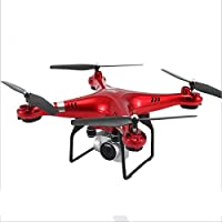 Owill Wide Angle Lens 2.4GHz HD Camera Quadcopter RC Drone WiFi FPV Helicopter Hover (Red)