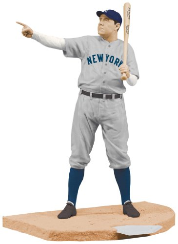 New York Yankees Mcfarlane 2010 MLB Babe Ruth Cooperstown Series 7 Action Figure ()