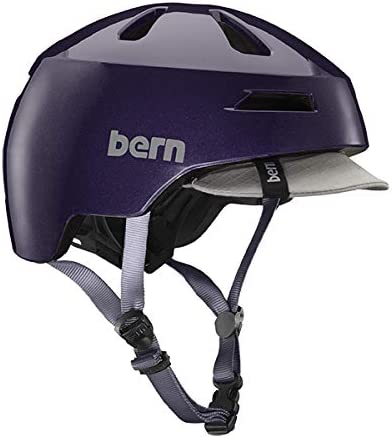 Purple S Bern Unisex Adult Brentwood 2.0 Helmet