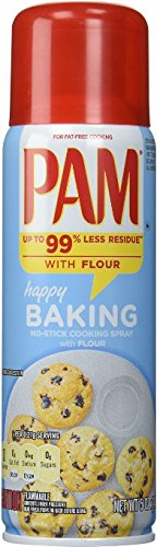 Pam Baking Spray 5oz (Pack of 3) - Pam Non Stick Spray